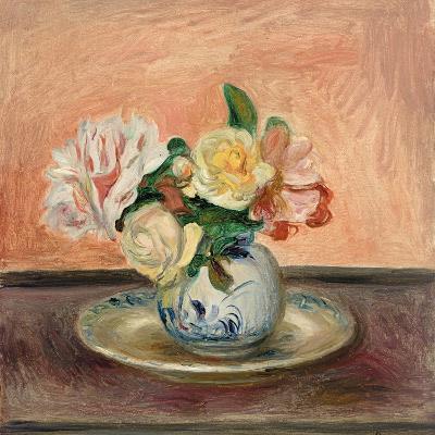 Vase of Flowers, 1901-Pierre-Auguste Renoir-Giclee Print