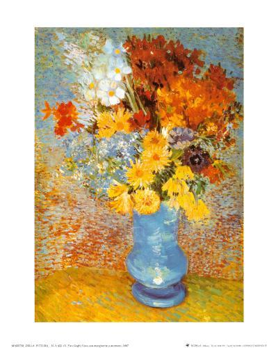 Vase of Flowers, c.1887-Vincent van Gogh-Art Print