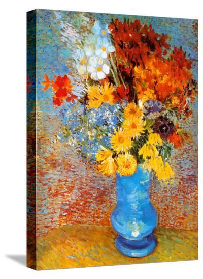 Vase of Flowers, c.1887-Vincent van Gogh-Stretched Canvas Print