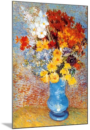 Vase of Flowers, c.1887-Vincent van Gogh-Mounted Print