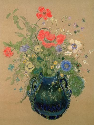 Vase of Flowers, c.1905-08-Odilon Redon-Giclee Print