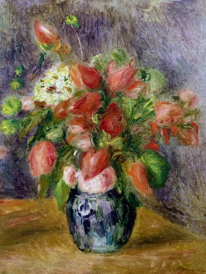 Vase of Flowers, c.1909-Pierre-Auguste Renoir-Giclee Print