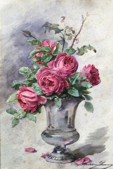 Vase of Flowers, C1865-1928-Madeleine Jeanne Lemaire-Giclee Print