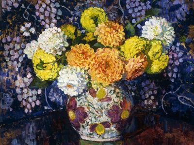 Vase of Flowers; Vase de Fleurs, 1907-Th?o van Rysselberghe-Giclee Print