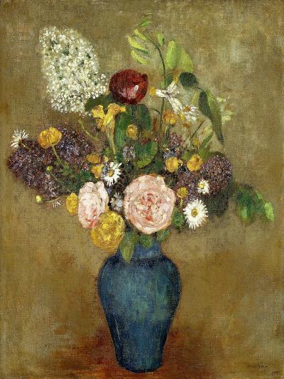 Vase of Flowers; Vase De Fleurs-Odilon Redon-Giclee Print