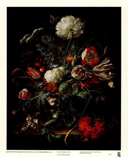 Vase of Flowers-Jan Davidsz^ de Heem-Art Print