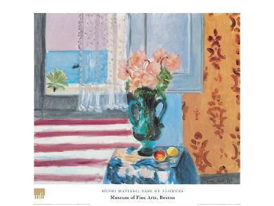 Vase Of Flowers-Henri Matisse-Art Print