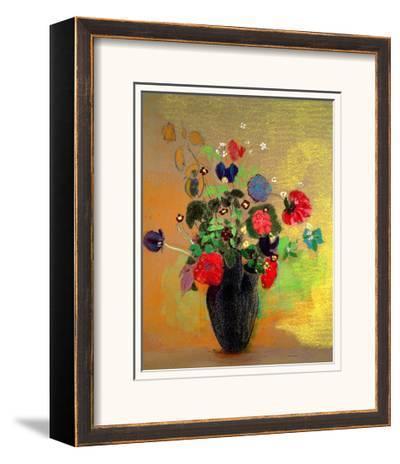 Vase of Flowers-Odilon Redon-Framed Giclee Print