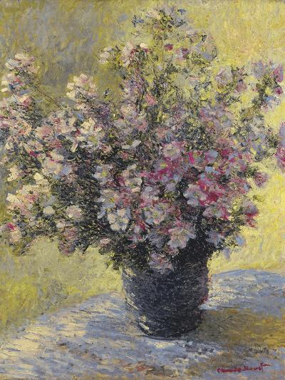 Vase Of Flowers-Claude Monet-Giclee Print