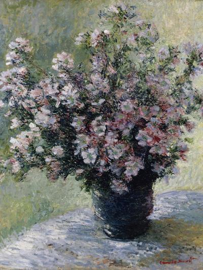 Vase of Flowers-Claude Monet-Giclee Print