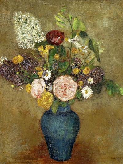 Vase of Flowers-Odilon Redon-Giclee Print