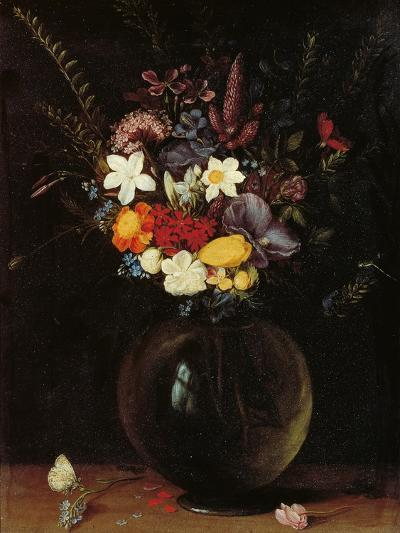 Vase of Flowers-Pieter Bruegel the Elder-Giclee Print