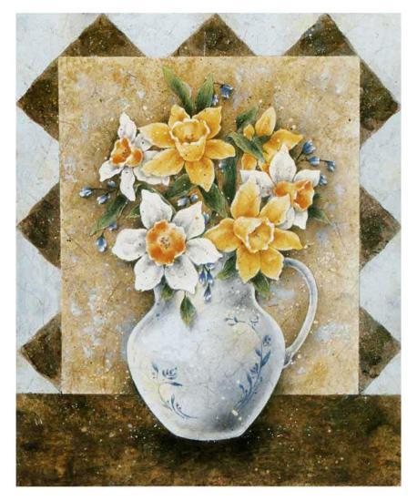 Vase of Narcissus-A^ Da Costa-Art Print