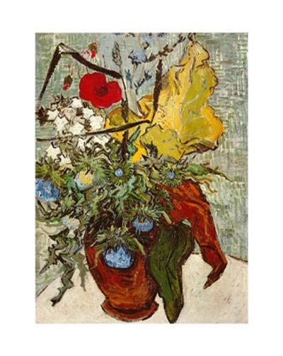 Vase of Poppies-Vincent van Gogh-Art Print