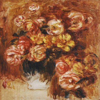 Vase of Roses; Vase De Roses-Pierre-Auguste Renoir-Giclee Print