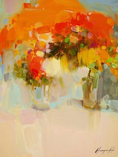 Vase of Yellow Flowers 2-Vahe Yeremyan-Art Print
