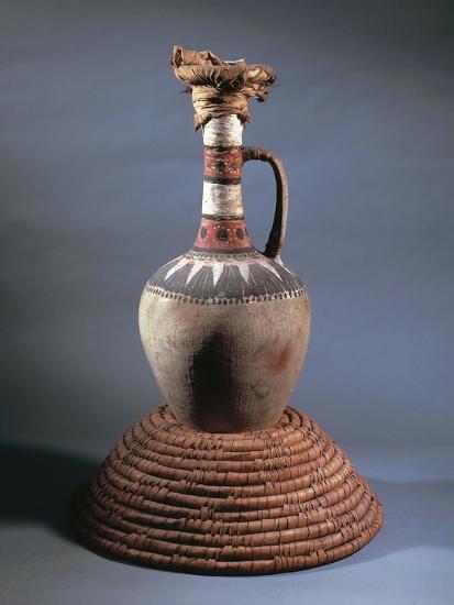 Vase, Part of Funerary Equipment of Tomb of Kha, from Deir El-Medina, Egypt--Giclee Print