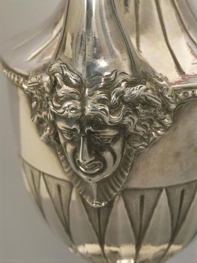 Vase-Shaped Silver Coffeepot, Detail: Decoration Depicting Medusa's Head--Giclee Print