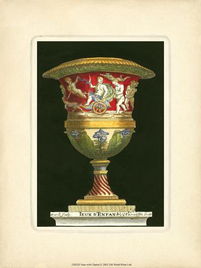 Vase with Chariot- THOMASSIN-Art Print