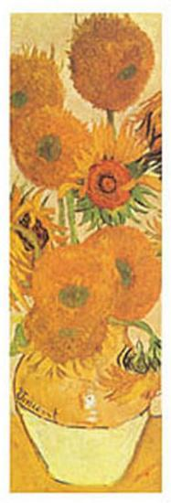 Vase with Fifteen Sunflowers Detail-Vincent van Gogh-Art Print