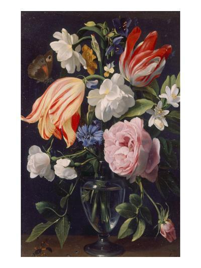 Vase with Flowers, 1637-Daniel Seghers-Giclee Print