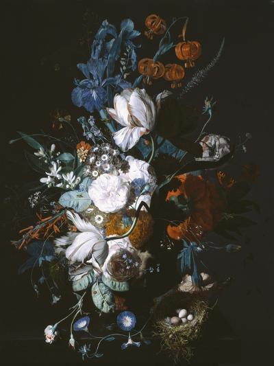 Vase with Flowers, C.1720-Jan van Huysum-Giclee Print