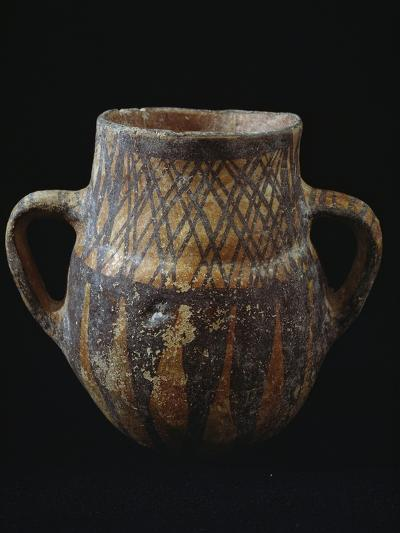 Vase with Geometric Decorations from Necropolis of Narro, Castelluccio Culture, Bronze Age--Giclee Print