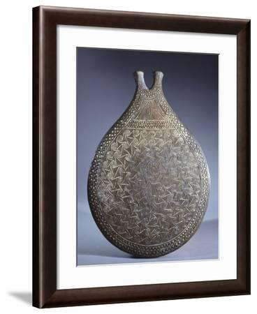 Vase with Incised Decoration, Cycladic Civilization, 3500-1050 BC--Framed Giclee Print