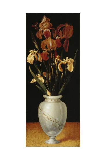 Vase with Lilies and Iris, 1562-Ludger Tom Ring-Giclee Print