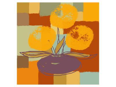 Vase with Yellow Flowers-Yashna-Art Print