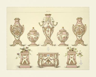 Vases and Jardinieres- Sevres-Giclee Print