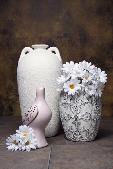 Vases with Daisies II-C^ McNemar-Photographic Print