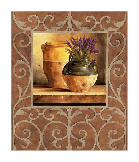 Vases With Lavender Giclee Print By Andres Gonzales Art