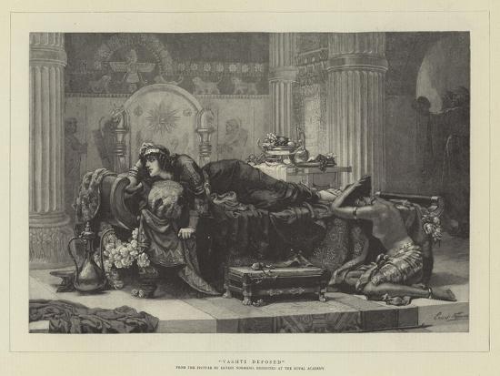 Vashti Deposed-Ernest Normand-Giclee Print