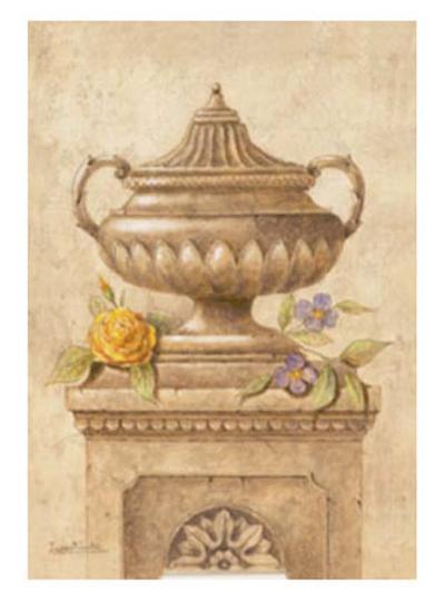 Vasijas con Flores I-Javier Fuentes-Art Print