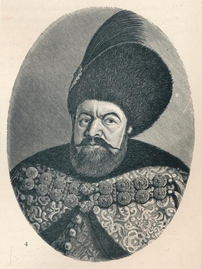 Vasile Lupu, Prince of Moldavia, c1906, (1907)--Giclee Print