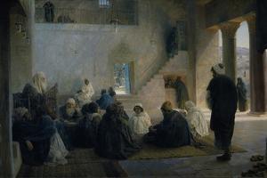 Christ Among the Doctors, 1896 by Vasili Dmitrievich Polenov