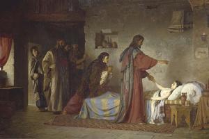Raising of Jairus' Daughter, 1871 by Vasili Dmitrievich Polenov