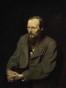 Portrait of the Fyodor Dostojevsky by Vasili Grigorevich Perov