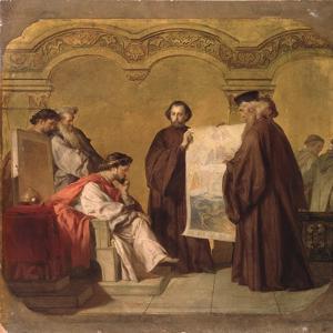 Grand Duke Vladimir Receiving the Ambassadors by Vasili Petrovich Vereshchagin