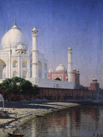 The Taj Mahal at Agra by Vasili Vasilyevich Vereshchagin