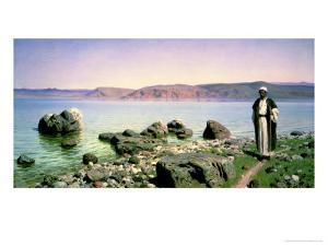 At the Sea of Galilee, 1888 by Vasilij Dmitrievich Polenov