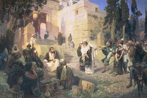 Christ and the Woman Taken in Adultery, 1888 by Vasilij Dmitrievich Polenov