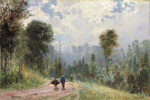 Forest Pathway, 1874 by Vasilij Dmitrievich Polenov