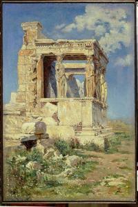 Portico with Caryatids, 1882 by Vasilij Dmitrievich Polenov