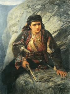 The Herzegovinian on Lookout, 1876 by Vasilij Dmitrievich Polenov