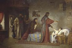 Christ and the Woman Taken in Adultery, 1888-Vasilij Dmitrievich Polenov-Giclee Print