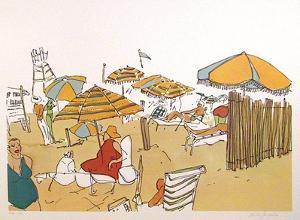 Untitled (Beach Scene) by Vasilios Janopoulos
