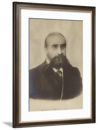 Vasily Nemirovich-Danchenko, Russian Writer and Journalist--Framed Photographic Print
