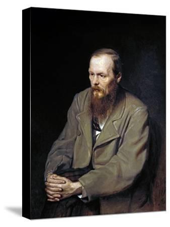 Portrait of the Writer Fyodor Dostoyevsky